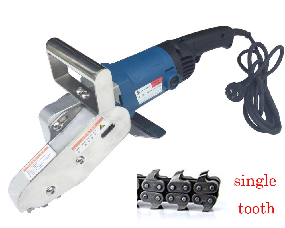 750W Single Claw Electric  Waste Stripper Stripping Machine Carton Box Waste Discharge Corrugated Cardboard Trimming Tool
