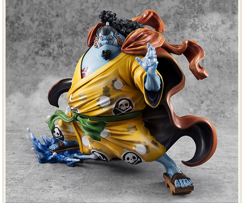 One Piece POP Jinbe Action Figure 1/8 scale painted figure The Straw Hat Pirates Jinbe PVC figure Toy Brinquedos Anime 25CM pop one piece sabo with devil fruit pvc action figure toys collective doll 10 25cm free shipping