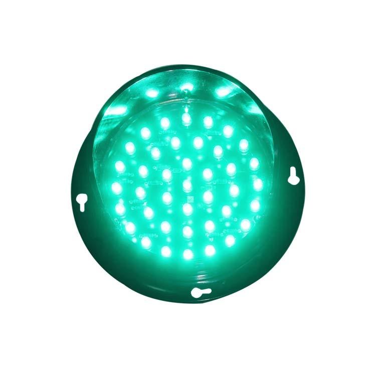 Promotion Price High Brightness DC 12V Green LED Signal Light 100mm Traffic Light Sale