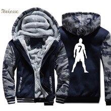 New Brand Hoodie Men Workout Hooded Sweatshirt Coat 2018 Winter Thick Fleece Warm Zip up Camouflage Jacket Fitness Streetwear цена 2017