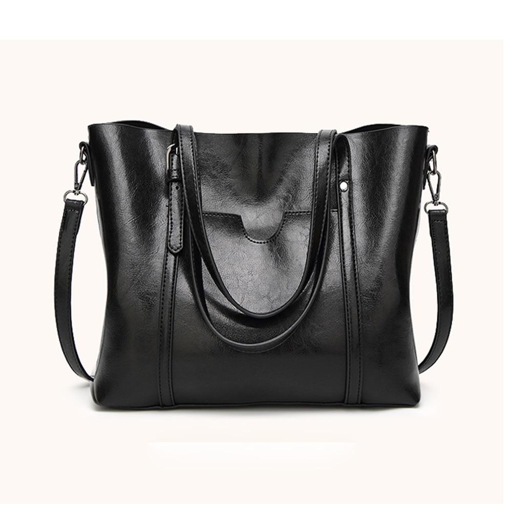 CONEED Women bag Womens Leather Handbags Luxury Lady Hand Bags With Purse Pocket messenger bag Big Tote drop ship ma19m30