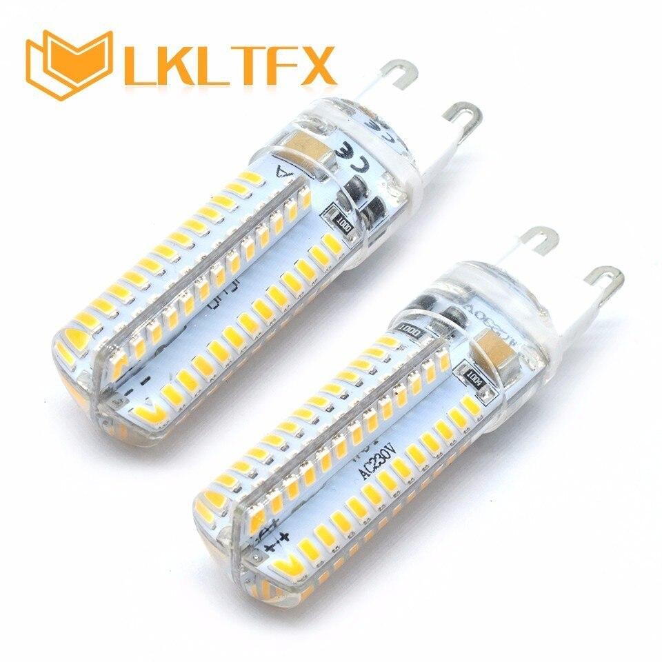 LKLTFX LED lamp G9 corn Bulb AC 220V 3W 2W 1W SMD 2835 3014 LED light 360 degrees Beam Angle spotlight lamps Bulb G4 bar DC 12V