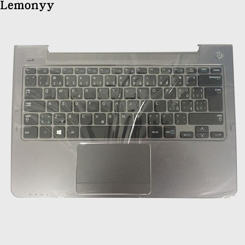 NEW Czech For Samsung NP530U3C NP530U3B NP535U3C NP540U3 NP532U3C NP532U3A CZ laptop keyboard BA75-04056R gray palmrest cover крепление для жк дисплея ноутбука for samsung samsung 5 np530u3b np530u3c np532u3c np532u3x np535u3c np535u3b ba75 03780a np530 np535 np535u3b np530u3b np530u3c np532u3c np532u3x np535u3c