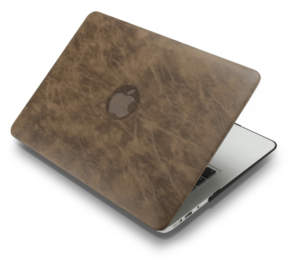 PU leather Hard Case for MacBook 18