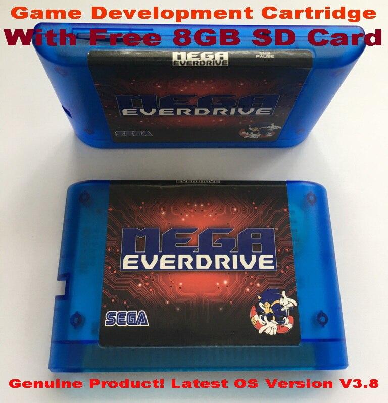 EDMD Game Cartridge for USA Japanese and European SEGA GENESIS MegaDrive MD Console