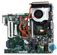 Mbakd06001 placa-mãe com dissipador de calor e cpu em vez mbahs06001 para acer aspire 4220 4520