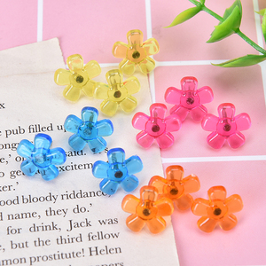 12pcs New Flower Star Shaped Push Pins Bulletin Boards Thumb Tacks Decorative for Cork Board Home and Office Supplies Push Pins