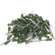 CNBTR 100 шт. зеленый промышленной тупой иглой для жидкий клей 14Ga