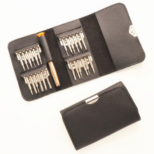 цена на 25 In One Multifunctional 1 Leather Screwdriver Combination Set Apple Mobile Phone Notebook Disassemble Repair Tool