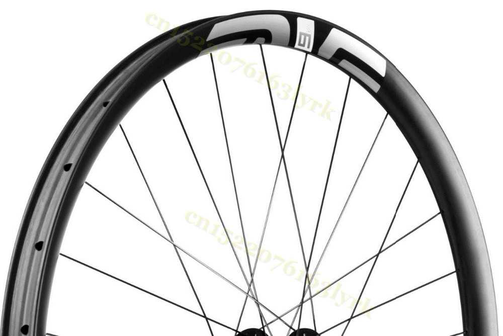 29er Tubeless Wheelset Wheels Carbon MTB 30mm, 35mm, QR, TA, or Boost, XD hubs carbon wheelset 275er 38.5mm Wide Asymmetric RIM