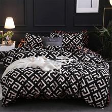 Modern Geometric California King Bedding Sets Sanding Duvet Cover Set Pillowcase Duvet Covers 229*260 3pcs Bed Set cheap Other Duvet Cover Sets 1 2m (4 feet) 1 5m (5 feet) 1 8m (6 feet) 2 0m (6 6 feet) 2 2m (7 feet) Qualified WS043 200TC Printed