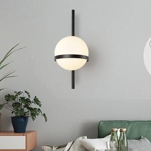 Image 5 - BEIAIDI Vintage Industrial Glass Globe Wall Light Nordic Moon Planet Wall Lamp Bedroom Bedside Sconce Bathroom Mirror Headlight