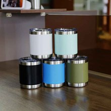 2017 New Type 12oz 10oz Thermos cup Vacuum Insulation Stainless Steel Mug Cup Vacuum Flasks Beer Coffee Mug Cup