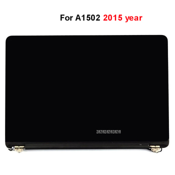 """Original New 13.3 inch LCD LED Screen Repair Laptop Part For 13"""" A1502 2015 Year Laptop Full Display Assembly Silver"""