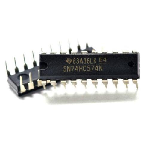 10 pcs 74HC574N 74HC574 DIP-20 D-Type Flip-Flop Integrated Circuit IC DIP 20