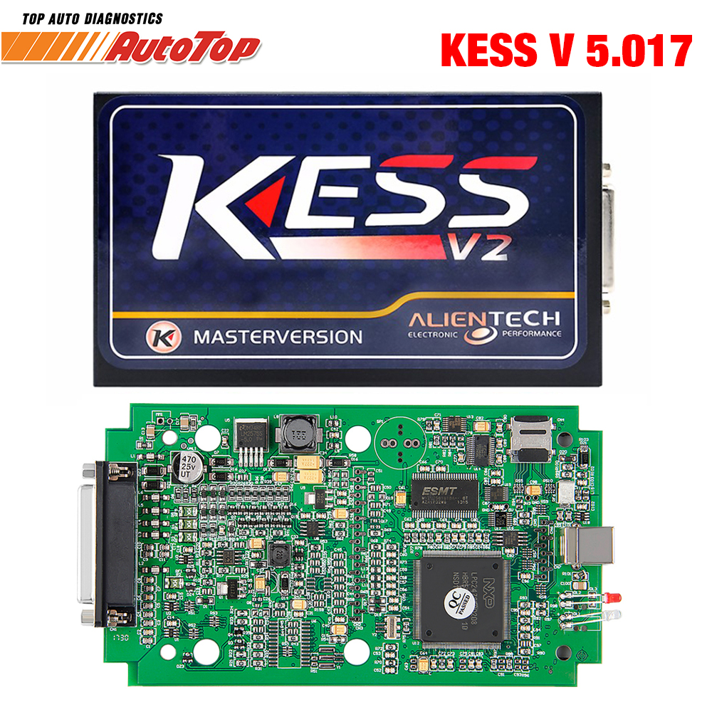 100% Original KESS V5.017  Kess V2 OBD2 Manager Tuning Kit No Token Limit Free ECM V5.017 ECU Chip Tunning Kit Programmer ktag k tag ecu programming ktag kess v2 100% j tag compatible auto ecu prog tool master version v1 89 and v2 06