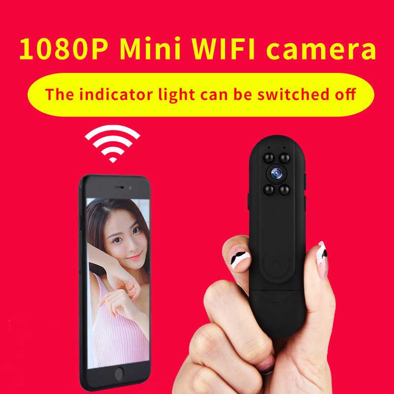 Поддержка 128G беспроводная камера для записи видео для смартфона Android и IOS 1080 P Высокое разрешение ручка форма видеокамеры