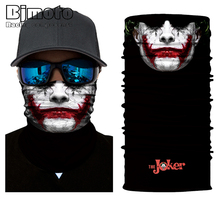 BJMOTO 2019 Tactical Skull Face Sun Neck Gaiter Face Mask Sun Shield Neck Gaiter Balaclava Neckerchief Bandana Headband цена в Москве и Питере