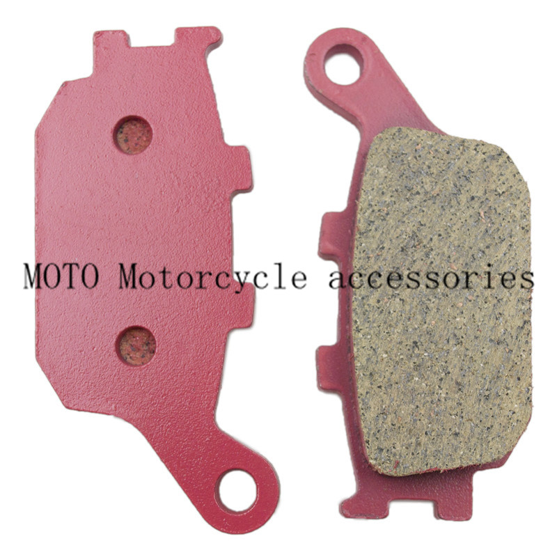 Motorbike Rear Brake Pads For Yamaha R6 2003 04 05 06 2007 08 09 10 FZ6 2004-09 FZ1 YZF R1 06-10 For SV650 2003-2010 DL650 04-10 mfs motor motorcycle part front rear brake discs rotor for yamaha yzf r6 2003 2004 2005 yzfr6 03 04 05 gold