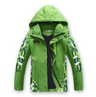 New Spring Autumn Children Boy S Jackets Coats Kids Active Clothing Double Deck Waterproof Windproof Boys