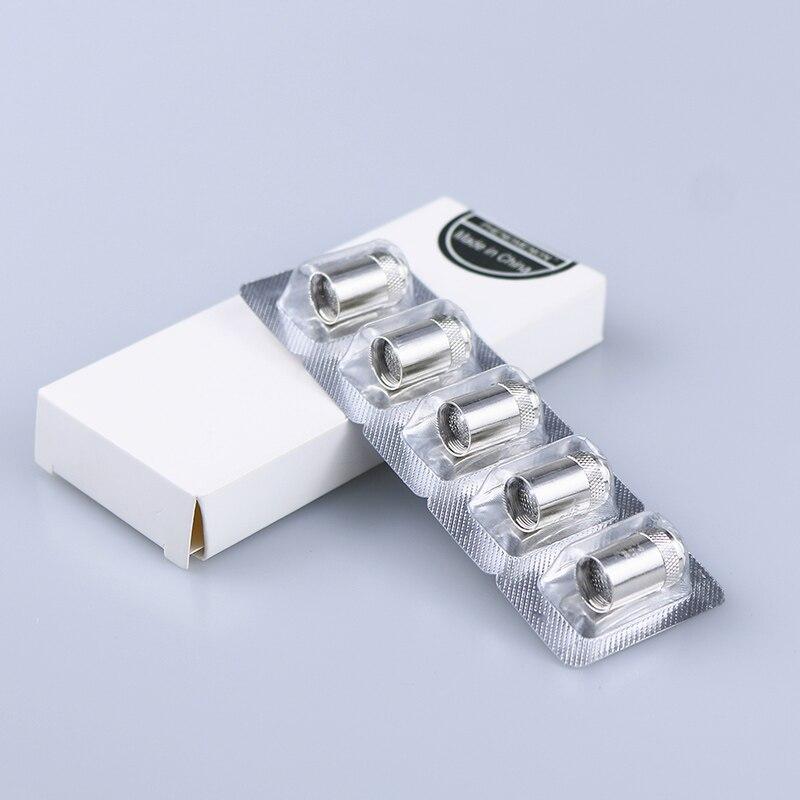 5pcs Electronic cigarette evaporator 0.5/0.6/1.0ohm replacement Vaporizer Coil CUBIS Tank/Cubis Pro/eGO AIO/ Cuboid Mini5pcs Electronic cigarette evaporator 0.5/0.6/1.0ohm replacement Vaporizer Coil CUBIS Tank/Cubis Pro/eGO AIO/ Cuboid Mini