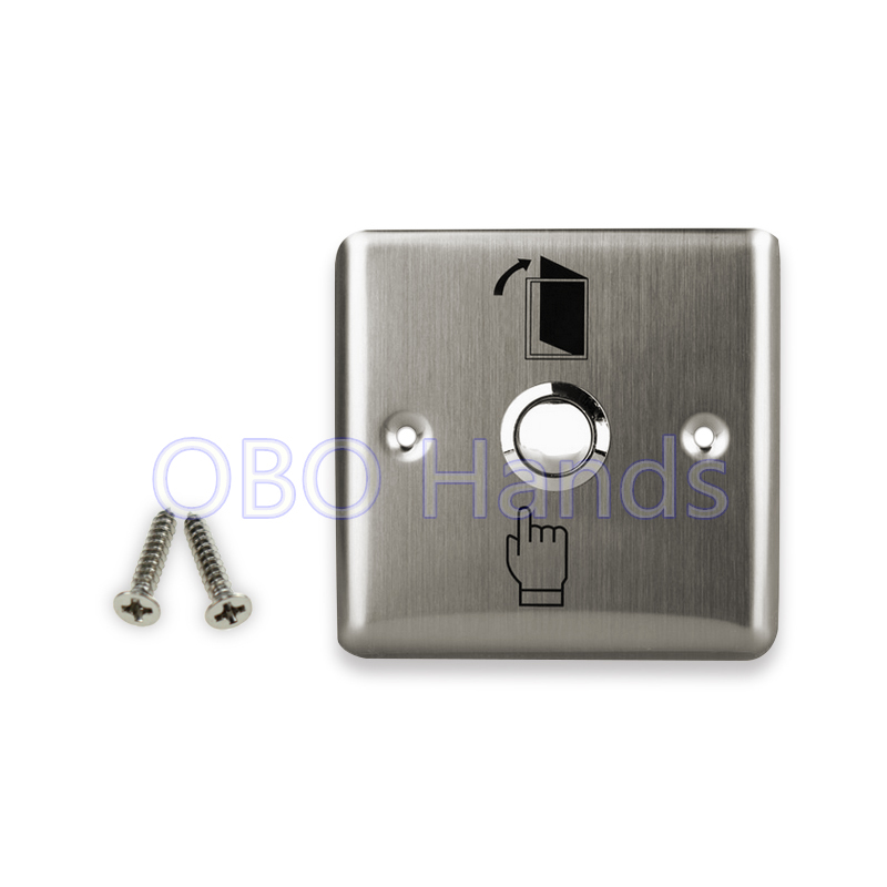 Free shipping high quality stainless steel door exit button release switch push to open the door for access control system-L1 [zob] supply of new original omron omron limit switch shl w2155 5pcs lot
