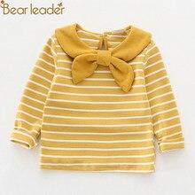 7f5830be8 Oso líder chicas Tops Casual Tops ropa de niños niña ropa de manga larga  chica tee camisas de punto bebé niña con capucha