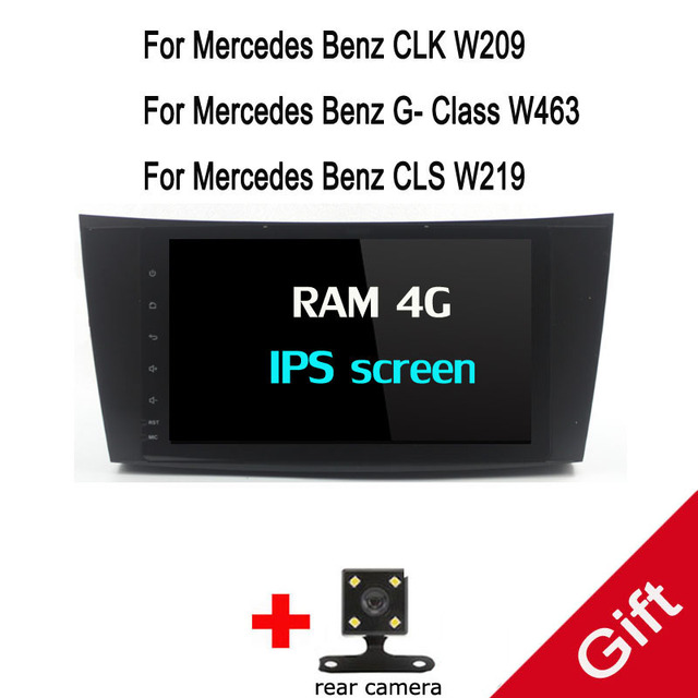 US $253 3 15% OFF|Octa Core Android 9 0 PX5 Fit E  Class/E200/E220/E300/W211/E320/Mercedes/Benz/CL Car DVD Player Navigation  GPS Radio-in Car