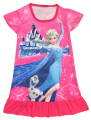 kids cotton night gown for girls 100-135cm elsa anna cartoons nightgowns for girls cotton girls dressing night gown dress S4