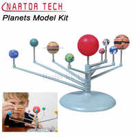 Hot Sell DIY The Solar System Planets Planetarium Model Kit Science Astronomy Project Early Education For Children Gift Toy