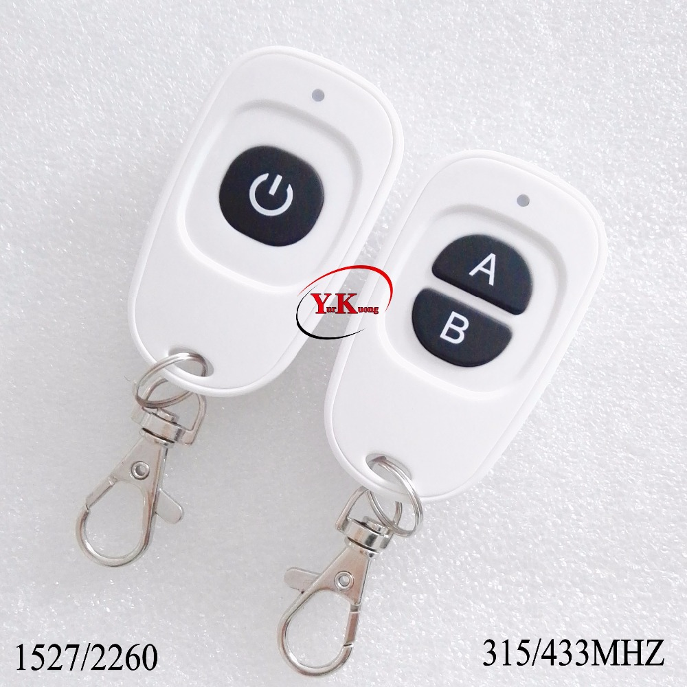Big Button Remote Control Transmitter RF Radio Wireless Console 1 Button 2 Button 3 Button 4 Button 2260 1527 315 433 White Colo-in Switches from ...
