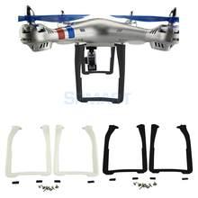 Patins d'atterrissage de train d'atterrissage de 2 pièces pour Syma X8 X8C X8W X8G X8HC X8HW X8HG RC Drone quadricoptère pièces de rechange bricolage remplacement
