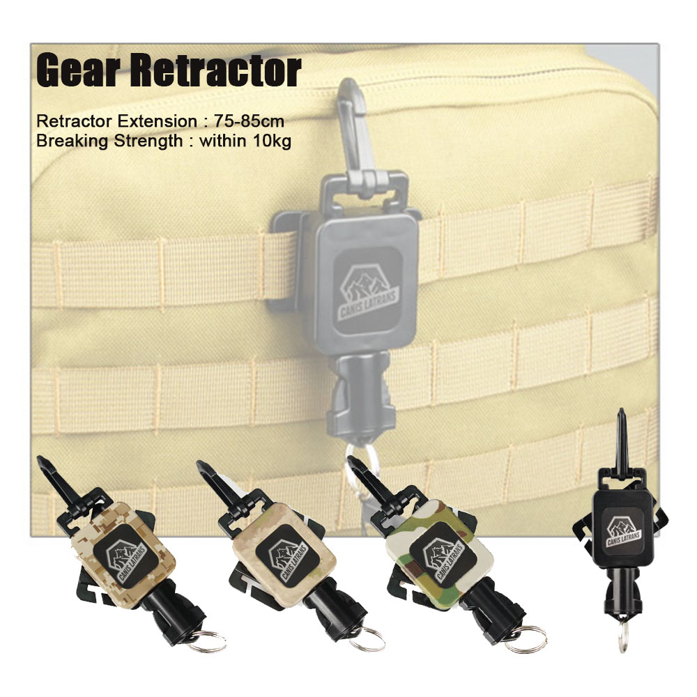 Tactical Black DD AT CP 10KG Breaking Gear Retractor Gear Untuk Hanging Bag dengan Airsoft OS33-0081