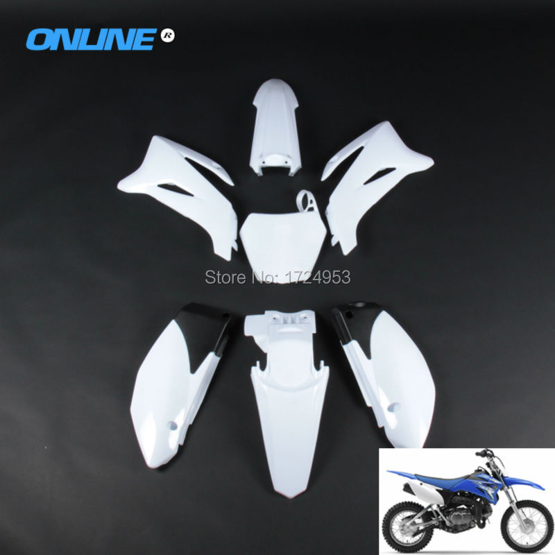 Complete Body Plastics Kits frame fender fairing For TTR110 BSE160 PH09/10 Dirt Pit Bike MX Motocross Supermoto SM Off Road