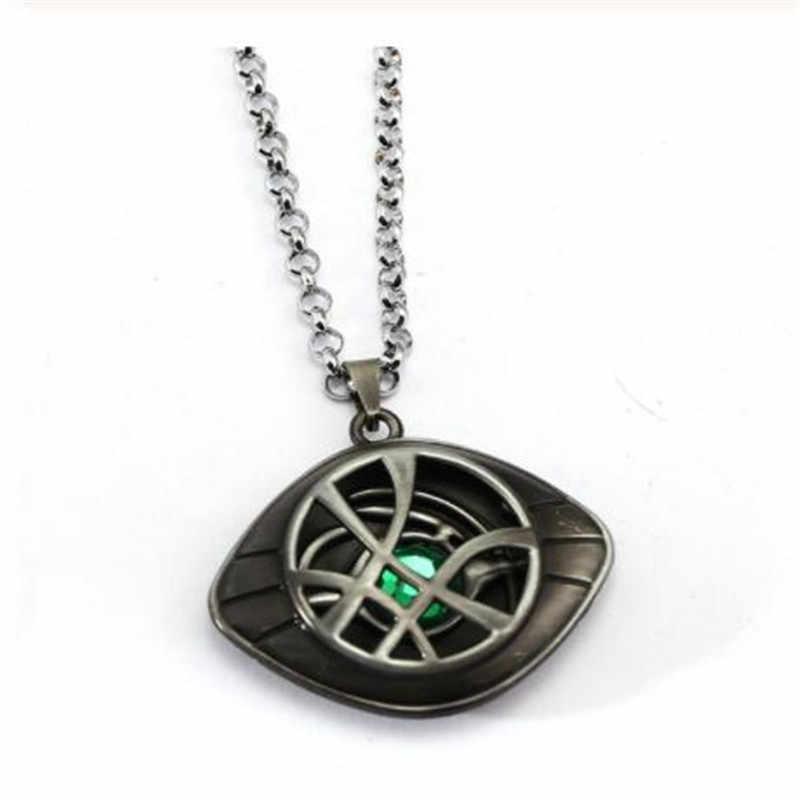 Gothique Avengers docteur étrange collier oeil d'agamotto Chocker colliers et pendentifs meilleur ami hommes bijoux collares livraison directe
