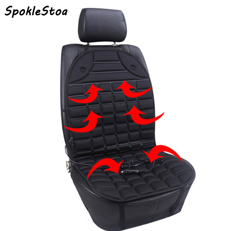 sebter heated car seat electric heated winter cushion double faced heated pad winter heating car. Black Bedroom Furniture Sets. Home Design Ideas