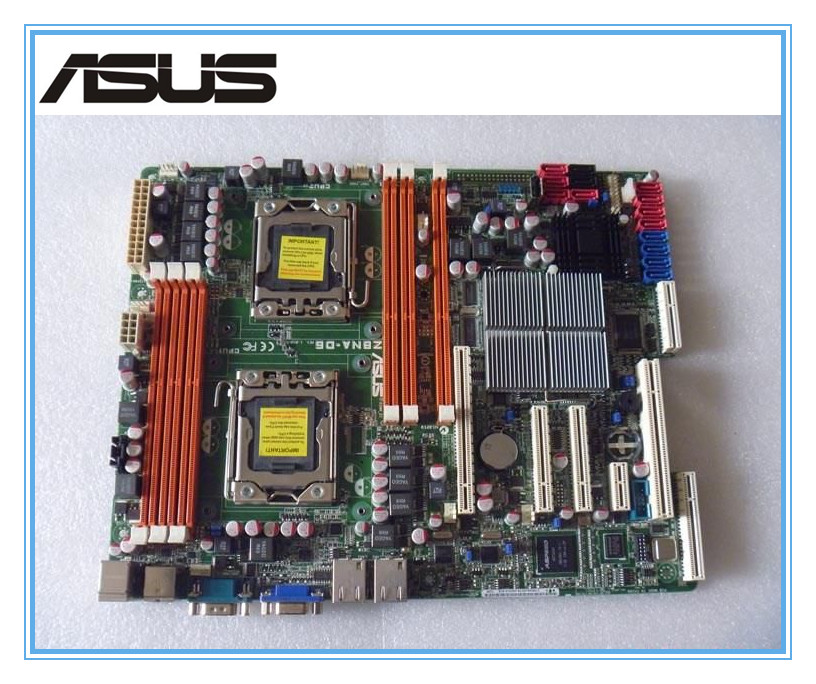 ASUS Z8NA-D6 original motherboard  LGA 1366 DDR3 for Core i7 Extreme/Core i7 24GB Desktop motherboard Free shipping дайва торнадо z 3 0 8 28