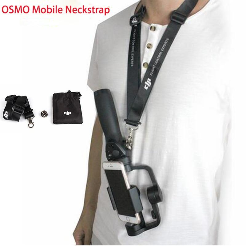 DJI OSMO Mobile 1 2 Ampliato Lanyard Neck Strap PER OSMO Mobile/DJI OSMO/OSMO + Cordicelle Al Collo cinturino con fibbia in metallo