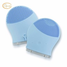 Silicon Deep Clean Facial Cleanser Vibration Cleaning Pulsating Brushes Electric Face Massager For Skin Care
