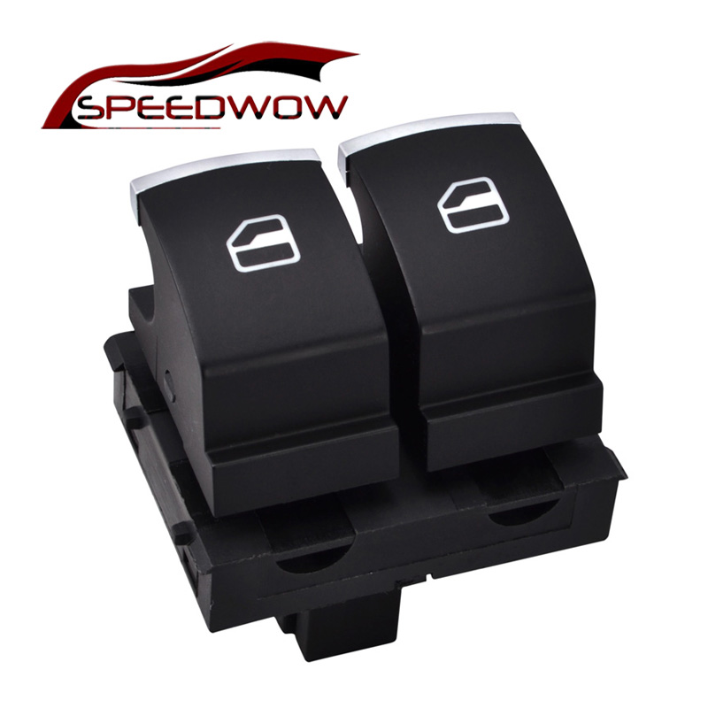 SPEEDWOW Window Control Switch Button For VW Eos Golf MK5 MK6 GTI 2 Door Scirocco Tiguan Polo 5K3 959 857/5K3 959 857 A B