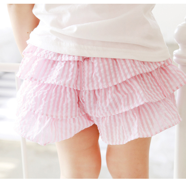 Europe Hot sale 2016 summer new children's clothing Korean striped culottes skirt children skirts factory direct free shipping