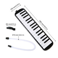 Friendly Band Pipe RU 32 Piano Keys Melodic Mouthpiece And Carrying Case Musical Instrument Present for Music Lovers Beginners