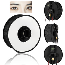 45cm Ring Softbox Speedlight Round Style Flash Light Shoot Soft box Foldable Diffuser