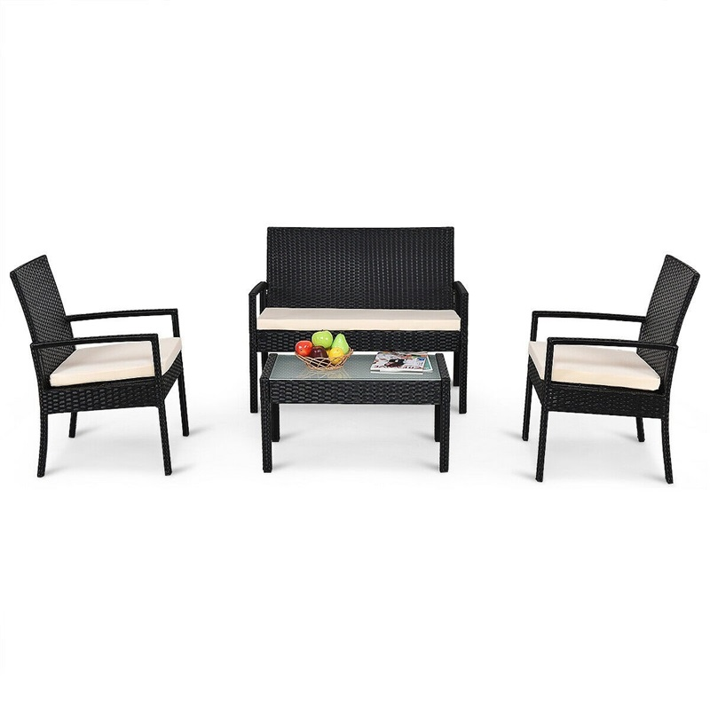 Outdoor Patio Furniture Set Table Chair
