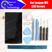 Leagoo M5 LCD Screen Display Original New Tested Top Quality Replacement LCD Display For M5+tools+adhesive