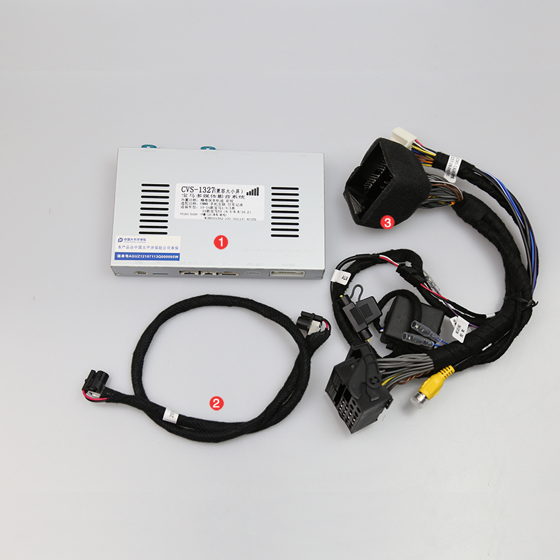 Upgrade the car original screen Rear view System for BMW 1 2 3 4 5 series