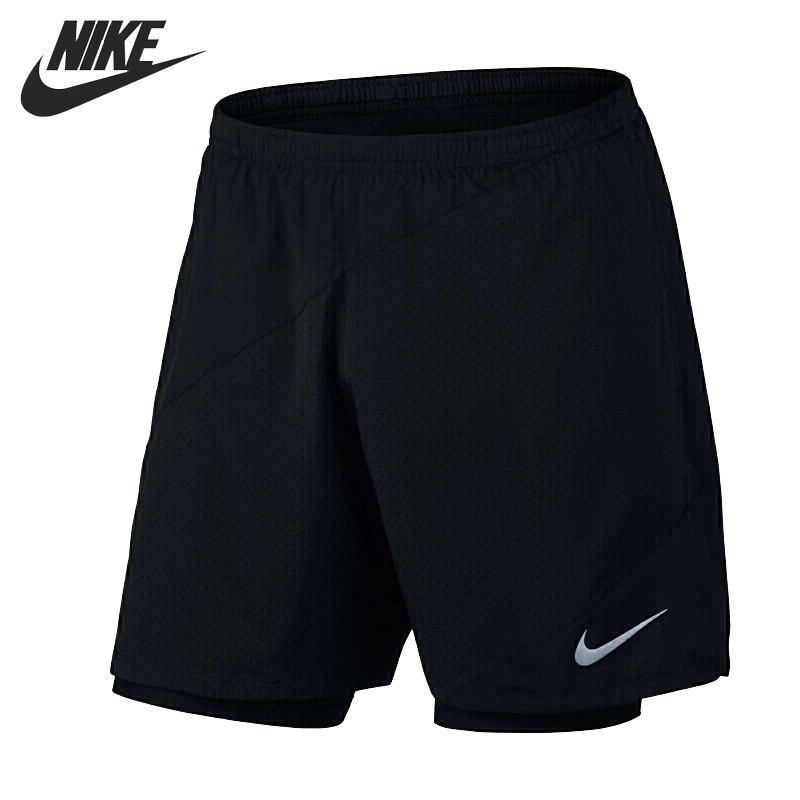 Original New Arrival 2017 NIKE FLX 2IN1 7IN DISTANCE Men's Shorts Sportswear шорты nike шорты m nk flx short 5in distance