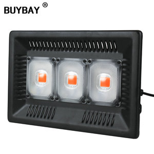 Image 1 - BUYBAY Full Spectrum LED Grow Light Waterproof IP67 100W 200W 300W COB Growth Flood Light for Plant Indoor Hydroponic Greenhouse