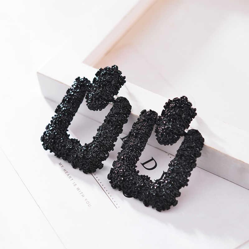 Hadiyana najnowszy moda geometryczne kolczyki w kształcie europejski projekt duże kolczyki w stylu Vintage prezent dla przyjaciela EH9999
