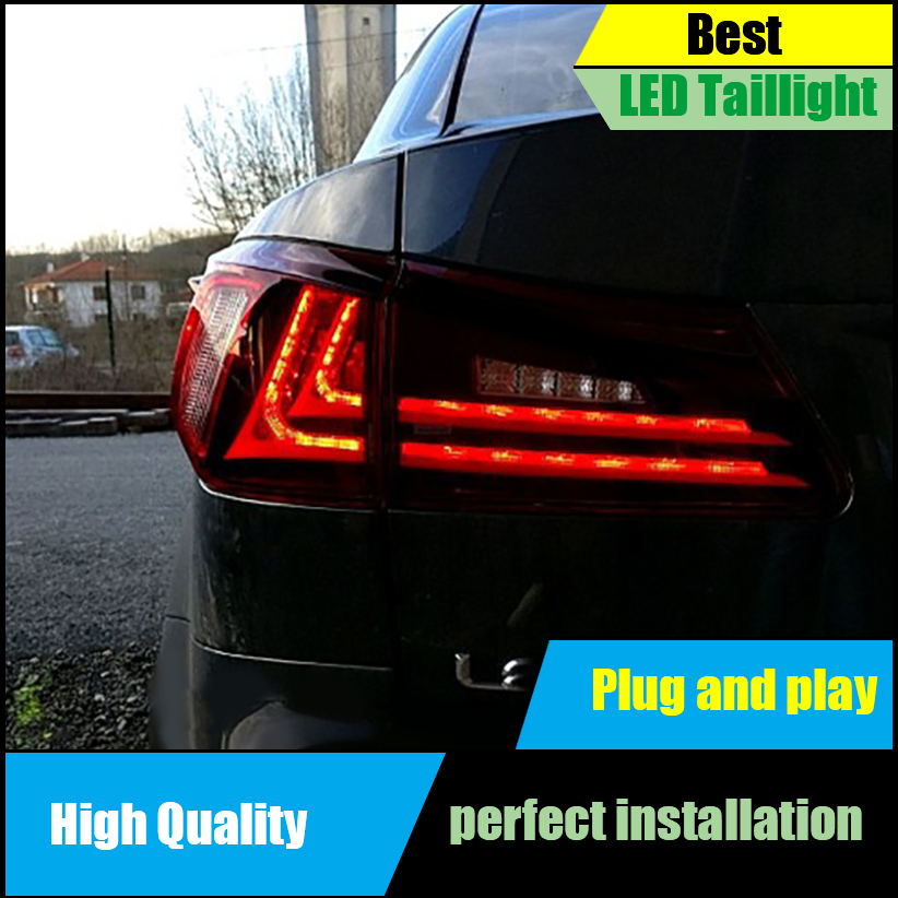 Car Styling Tail Light for Lexus IS250 IS300 2006- 2012 Tail Lights Full LED Taillight Rear Lamp Driving+Brake+Park+Signal Light hireno tail lamp for mercedes benz w220 s280 s320 s350 s500 s60 1998 05 led taillight rear lamp parking brake turn signal light